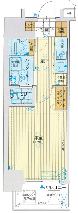 アスヴェル大阪城WESTⅡ物件画像2